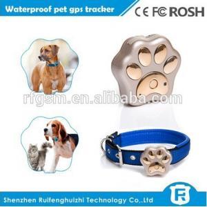 China Mini waterproof dog gps tracker with mobile phone 3g wcdma gsm dual sim mobile phone V40 on sale