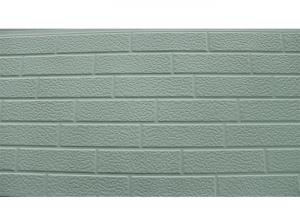 China Pu Sandwich  Insulated Brick Slip Panels Light Weight Heat Insulation 500 Sqm on sale
