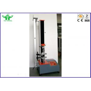 China 5000N Single Arm Computer Servo Tensile Strength Testing Machine ISO10319 & ISO12236 on sale
