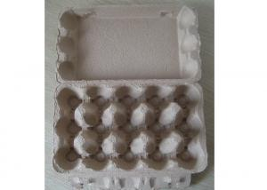 China Paper Egg Tray Moulding Machine , Paper Pulp Molding Machinery 30,18,12,6 eggs on sale