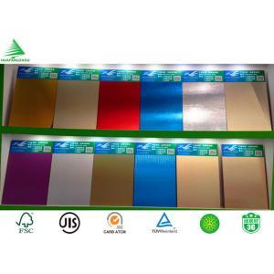 China 18mm Kitchen cabinet grade aluminium sheet faced mdf on sale