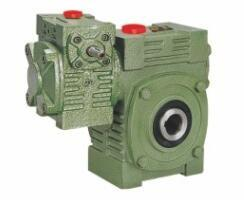 China Worm Gear Reducer Mini WPWEK With Motor Gearbox Aluminium / Cast Iron Housing on sale