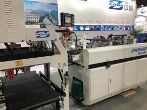 China Auto Box Corrugated Box Makers , Corrugated Cardboard Box Making Machine on sale