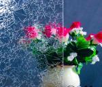 Kasumi claro figurou o vidro 3mm, 4mm, 5mm, vidro de flutuador moderado 6mm