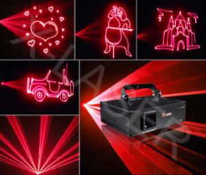 China  AR500 Red colour animation disco laser light on sale