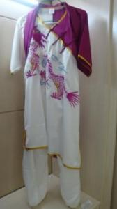 China fashion designer purple dragon kungfu clothing on sale