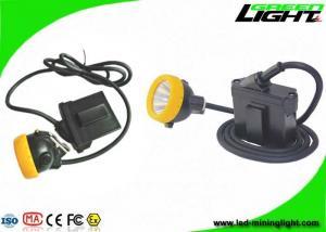 China Explosion Proof LED Miners Helmet Light IP68  7.8Ah Li - Ion Battery 10000lux Brightness on sale