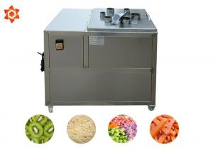 China 500 Kg/H Capacity Vegetable Processor Machine Commercial Potato Chips Cutter on sale