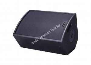 China Black Live Audio Coaxial Passive Stage Pro Audio Speakers 60Hz - 19KHz on sale