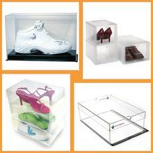 China acrylic shoe display case on sale