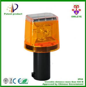 China Factory supply Hot sale 4 LED traffic solar warning light,solar traffic cone light, solar LED Traffic warning light on sale