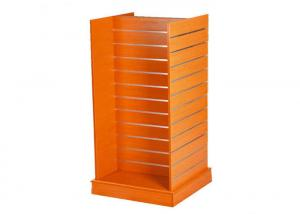 China Double Sided Floor Standing Retail Wall Shelving , Pegboard Display Stand 600 * 600 * 1380MM on sale