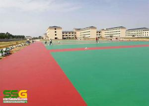 China Green, blue, red Sport Court Surface, acrylic tennis court surface on sale