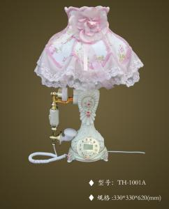 China table lamp with telephone,TH-1001A, on sale