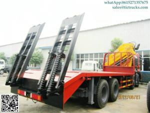 China Truck Mounted Crane XCMG cranes 16T.m boom  DFL 8x4 flatbed truck mounted crane Whatsp:8615271357675 on sale