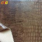 Crocodile PU Synthetic Leather for Sofa / Chairs / Upholstery