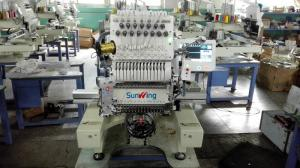 China Multifunction Computer Embroidery Machine Single Head With Touch Screen LCD on sale