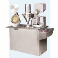 Granules Feeding / Powder Capsule Filling Machines Semi Automatic For Pharmaceutical Factory