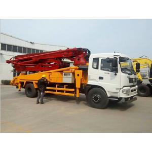 China 32m H Shaped Outrigger Concrete Pump Truck 9600*2500*3500 MM Easy Operation on sale