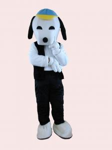 Quality Adults snoopy dog mascot costume fancy dress for sale