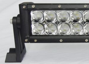 Quality 180W 3D Vehicle LED Light Bar 12v / 24v 31.5Inch 60LED Bumper Car Roof Light Bar for sale