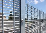 Hot Dipped Galvanized High Security Metal Fencing( mesh size 12.7mmX76.2mm)