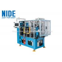 Four Working Station Lacing Machine For Compression Motor Stator Coil