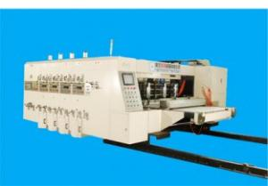 Quality Remote Control Flexo Printer Slotter Machine With Lead Edge Feeder 150 Pieces/Min for sale