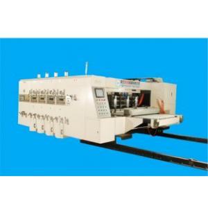 Quality Máquina de controle remoto de Slotter da impressora de Flexo com partes do alimentador 150 da borda de ataque/minuto for sale