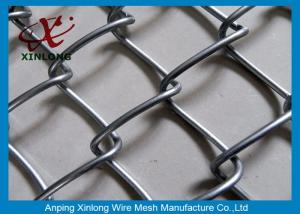 China Hot Dipped Galvanized Chain Link Fence For Chicken Farms 20m Length on sale