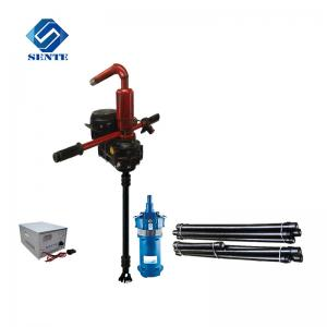 China gasoline drive mini water well drill rig for home use small model water well drilling rig on sale
