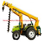 Customized hydraulic handheld excavator auger drill rock auger for drill