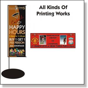 China colorful one way vision Outdoor Banner Printing , outside Custom Flag Printing on sale