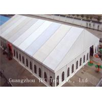 Luxury Outside Event Tents With Party Decoration 100 % Available Interior Space