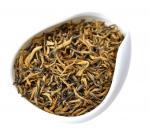 大きくふくよかな葉が付いている中国人のユンナンDian洪の紅茶
