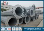 Q355 Steel Conical Pole 10KV Power Line Pole Electrical Post Anti - Corossive