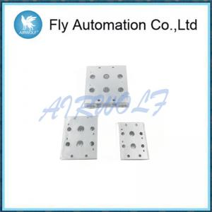 China Two / Five Holes Solenoid Valve Accessories Bus Board -20 - 70 ℃ In Silver on sale