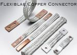 Customized All Series Flexible Copper Connector , Braided Flex Connectors For Electric Power