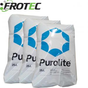 China Water treatment chemical Purolite C-100E Na+ Cation Exchange Resin on sale