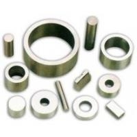 LNG9 Grade Permanent Cast / Sintered Alnico 5 Magnets Ring , Block , Rod , Arc