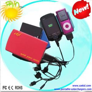 China Lithium Portable USB Solar Charger For Laptop, All Kinds Of Mobile Phones And Cameras on sale