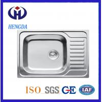 Fashion Design Single Bowl Stainless Steel Kitchen Sink