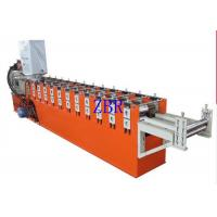 Automatic Galvanized Window Door Frame Making Machine With Color Touch Screen