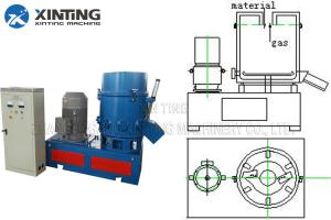 Quality 380V Plastic Agglomerator Machine Soft PVC LDPE HDPE PS Recycling Granulator for sale