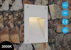 China IP65 3W Outdoor Wall Mounting 220~240v Led Stair Step Lighting Aluminum Alloy on sale