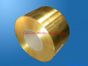 China Industry High Conductivity Polished Copper Strip , Copper Foil Rolls on sale