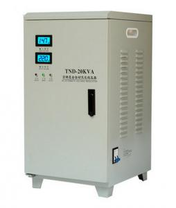 Quality TND series automatic voltage stabilizer 5kva , AC 3 phase voltage regulator 220v for sale