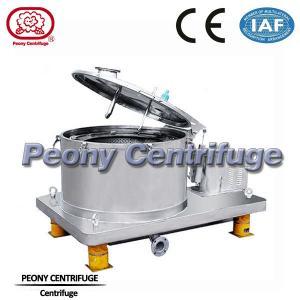 China Batch Operate Food Centrifuge PPBL Bag Lifting Soya Meal Centrifuge Basket Centrifuge on sale