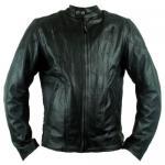China men bonded leather jacket wholesale