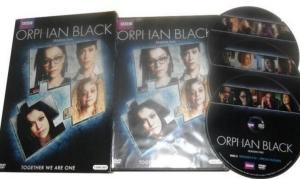 China Funny Movie Dvd Box Sets Orphan Black Season 5 Theatrical Trailers Episodes on sale